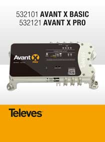 TELEVES AVANT-X Basic and Pro. A NEW EVOLUTIONARY STAGE with PROGRAMMABLE FILTERS and DIGITAL PROCESSING!