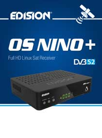 EDISION OS NINO+ DVB-S2, Α NEW MODEL OF EDISION LINUX RECEIVER!