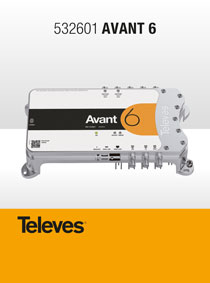 TELEVES AVANT-6. A NEW EVOLUTIONARY MATV AMPLIFIER with PROGRAMMABLE FILTERS!