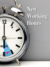 EDISION NEW WORKING HOURS