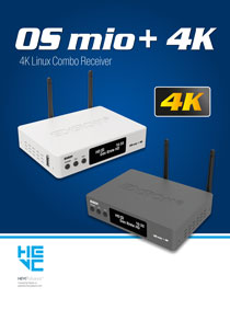 EDISION OS MIO+, ONE MORE NEW 4K UHD RECEIVER FROM EDISION!