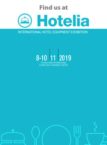EDISION at HOTELIA 2019. November 8th to 10th 2019. PAVILLION 10, STAND 5.