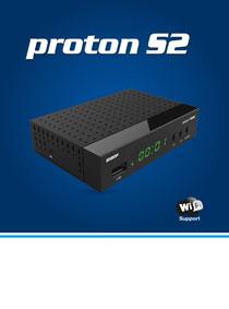 EDISION PROTON S2. Neuer DVB-S2 FTA SATELLITEN RECEIVER von EDISION!