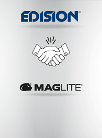MAGLITE and EDISION. NEW COOPERATION WITH MAG INSTRUMENT Inc.