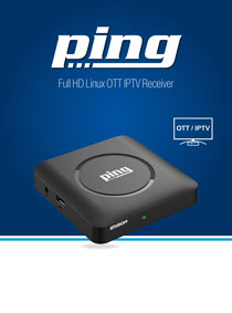 EDISION PING. NEW OTT IPTV H265 HEVC RECEIVER!