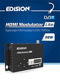 NEW! The EDISION HDMI Μodulator Lite!