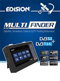 EDISION MULTI-FINDER! Νέο και Πρωτοποριακό όλα-σε-ένα ηλεκτρονικό όργανο μετρήσεων και δοκιμών!