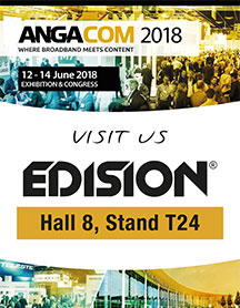 EDISION ANGACOM 2018,  KOELNMESSE NORTH ENTRANCE, HALL 8 STAND T24, 12 - 14 ΙΟΥΝΙΟΥ 2018!