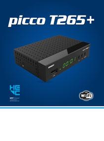 PICCO T265+. ΝΕΑ ΑΦΙΞΗ ΣΤΗΝ ΚΑΤΗΓΟΡΙΑ ΤΩΝ ΕΠΙΓΕΙΩΝ ΨΗΦΙΑΚΩΝ ΚΑΙ ΚΑΛΩΔΙΑΚΩΝ DVB-T2/C  H265 HEVC ΔΕΚΤΩΝ EDISION!